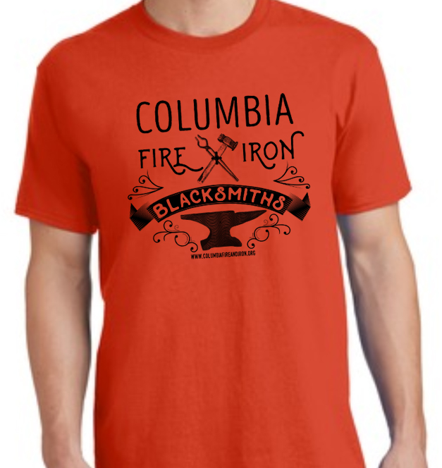 CFI T-shirt design orange